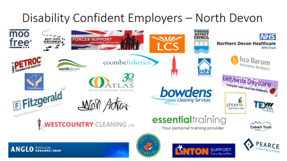 Disability Confident Employers in North Devon