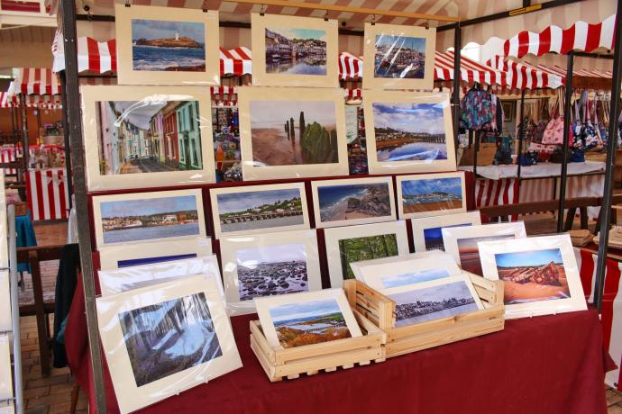 Brian Sidwell Photography Bideford Pannier Market photos for sale