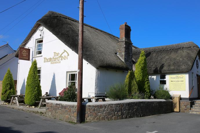 The Thatched Inn Bideford Devon