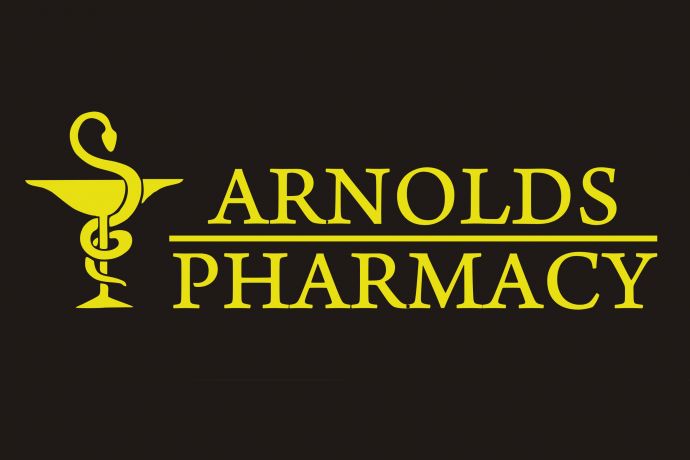 Arnolds Pharmacy Logo Westward Ho! Nr Bideford