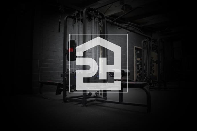 powerhouse gym logo bideford alverdiscott road