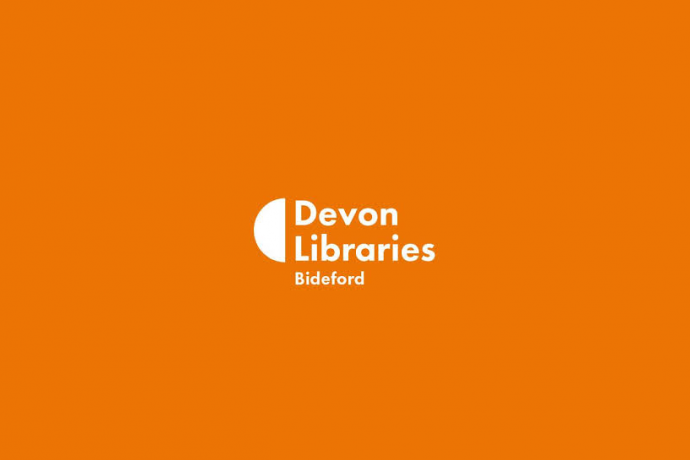 Devon Libraries Bideford Logo