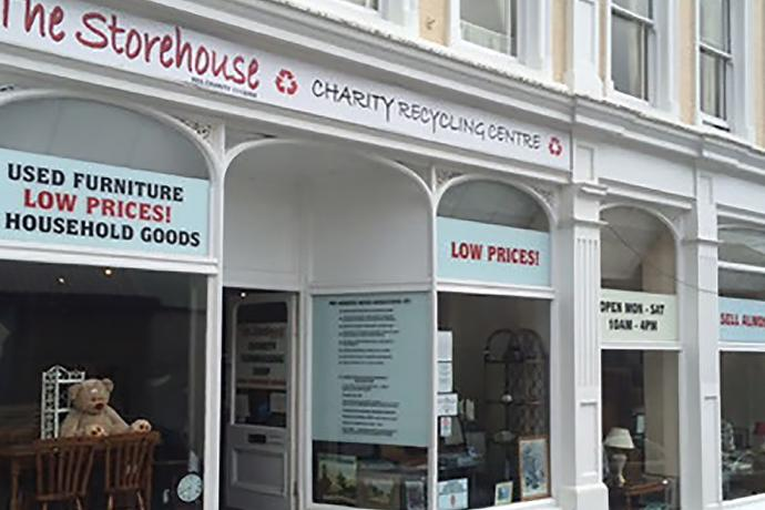 The Storehouse Grenville Street Shop Front
