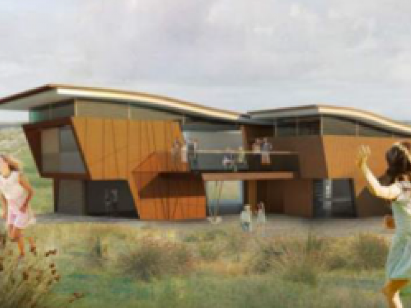 Artists impression of new centre