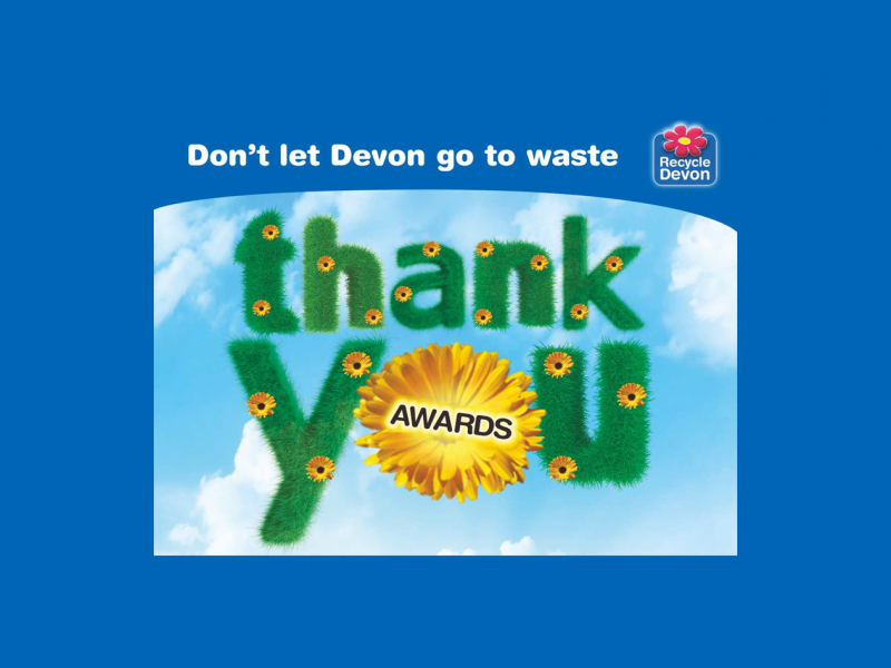 Annual Recycling Awards poster