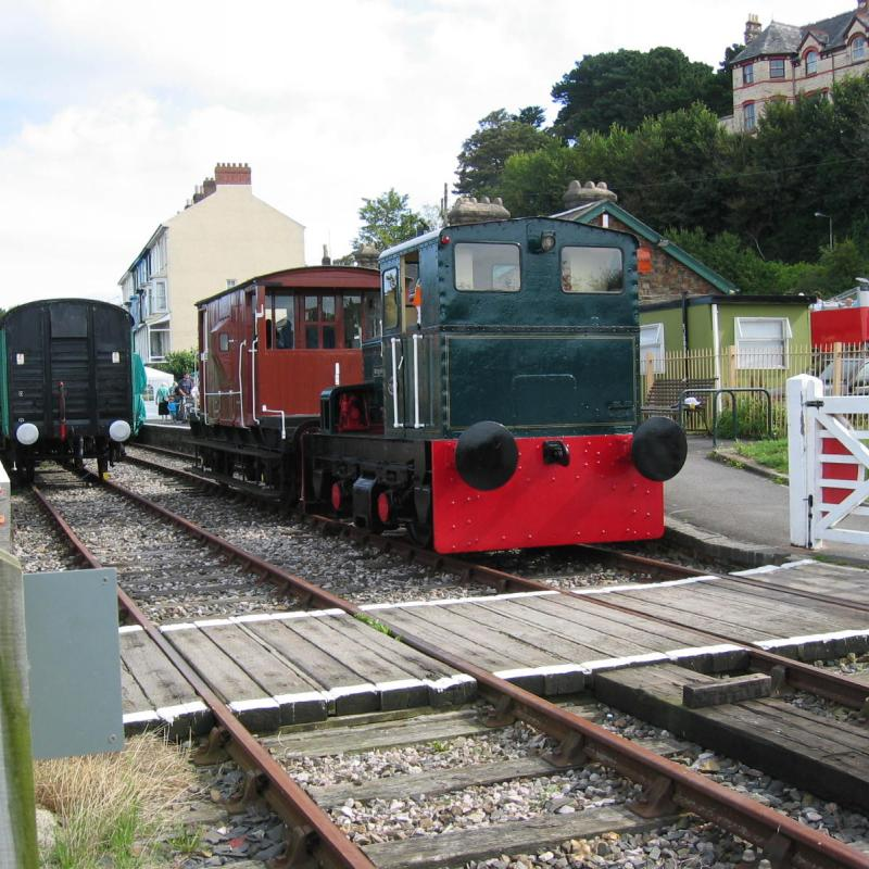 Bideford Railway Heritage Centre trains