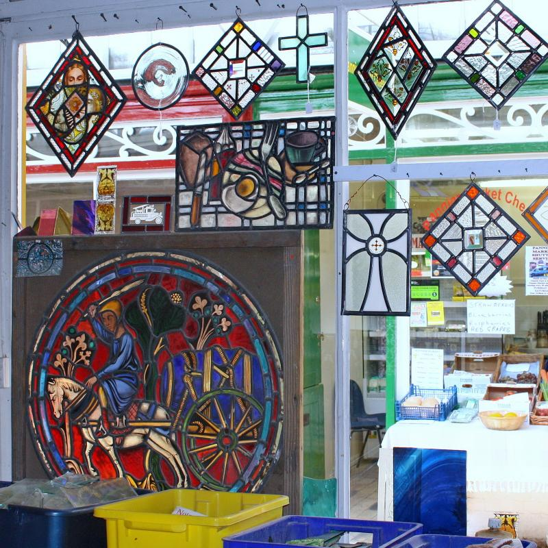 Stained Glass Workshop Samples
